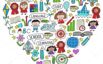 Depositphotos 242966786 Stock Illustration Vector Set Of Learning English